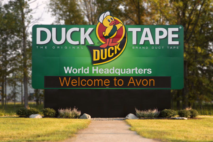duck-tape-headquarters-digital-sign