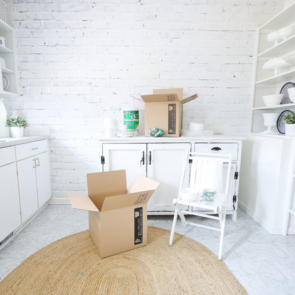 High Res Kitchen Packing Boxes