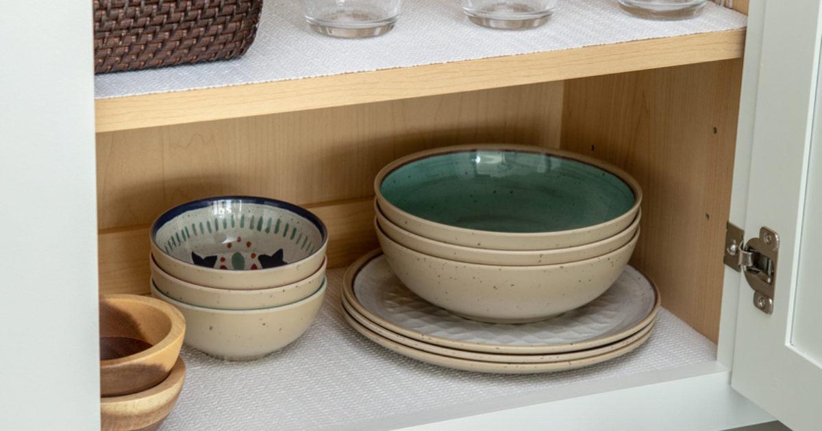 4 Kitchen Shelf Liner Ideas Easyliner Brand Duck Brand
