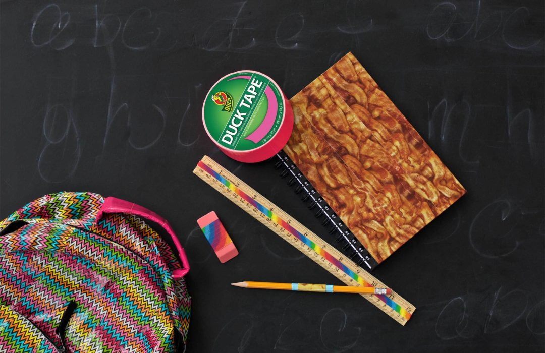 5 Ways to Style Up Your School Supplies with Duck Tape