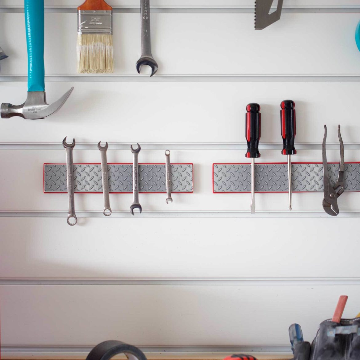 5 Ways To Use Duct Tape For Garage Organization Duck Brand