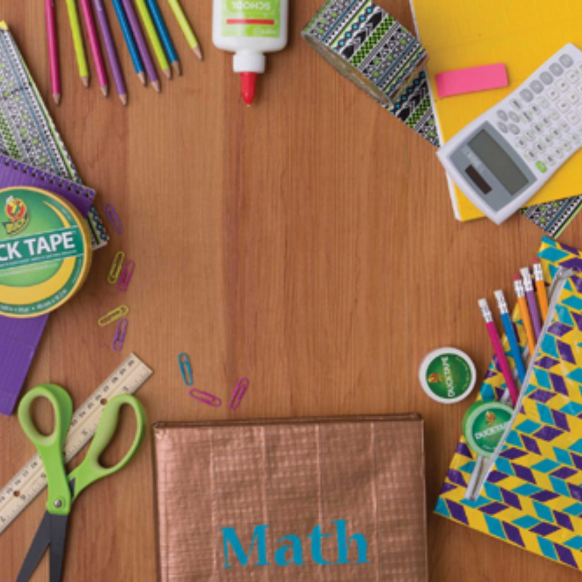 6 Diy Duct Tape Crafts To Style Your School Supplies Duck