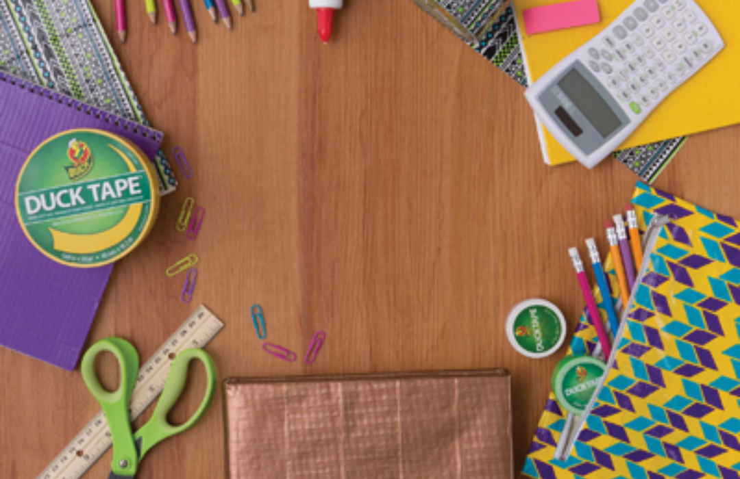 6 DIY Duct Tape Crafts to Style Your School Supplies