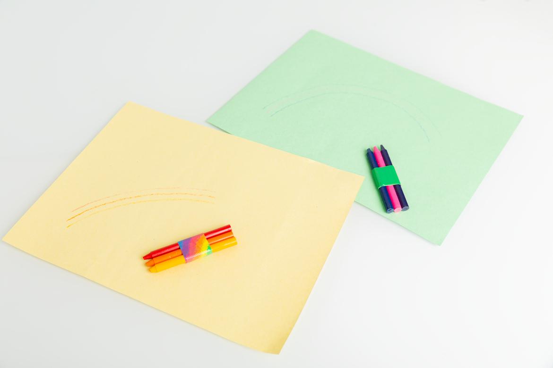 St. Patrick's Day Rainbow Crayons