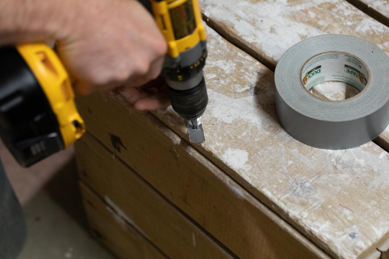Duck Tape Hack - Stripped Screw