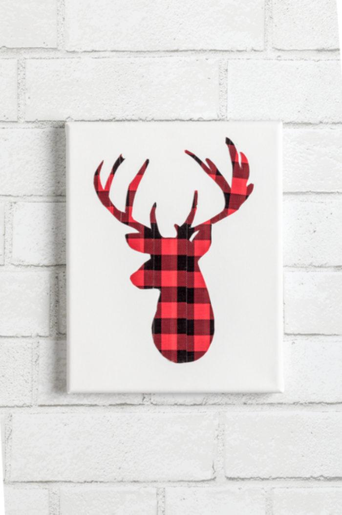 A deer canvas art