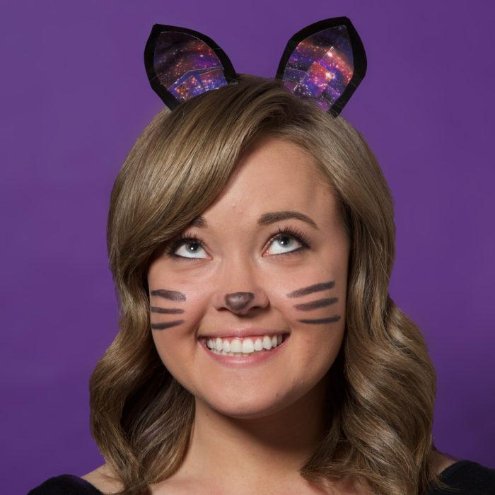 Duck Tape® Cat Ears for Halloween