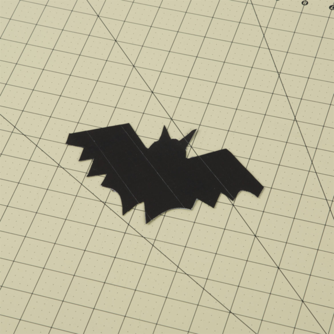 Bat from previous step cut out