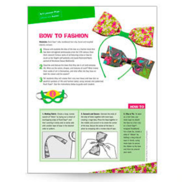 Bow To Fashion Lesson Plan