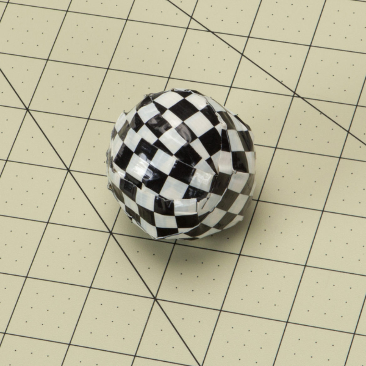 Ball made of Duck Tape