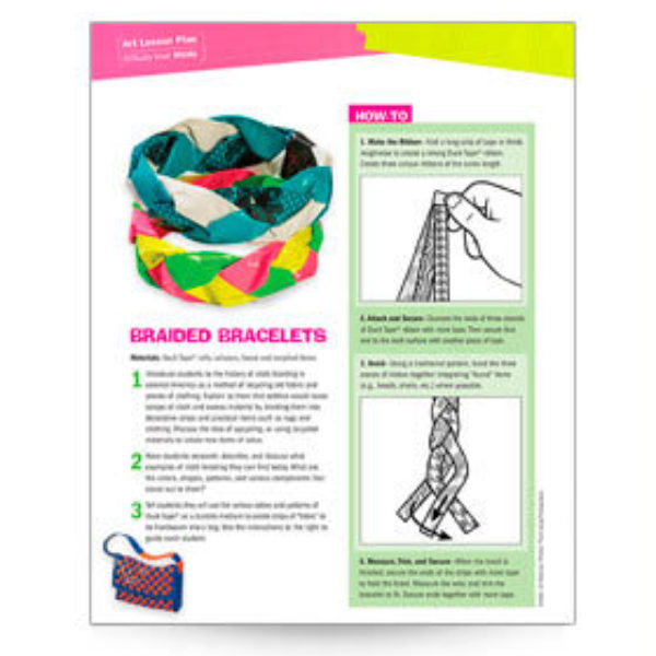 Braided Bracelets Lesson Plan