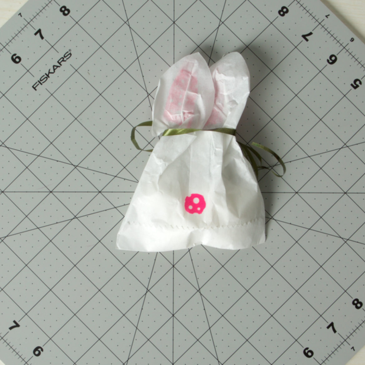 Bunny Treat Bag Step 6
