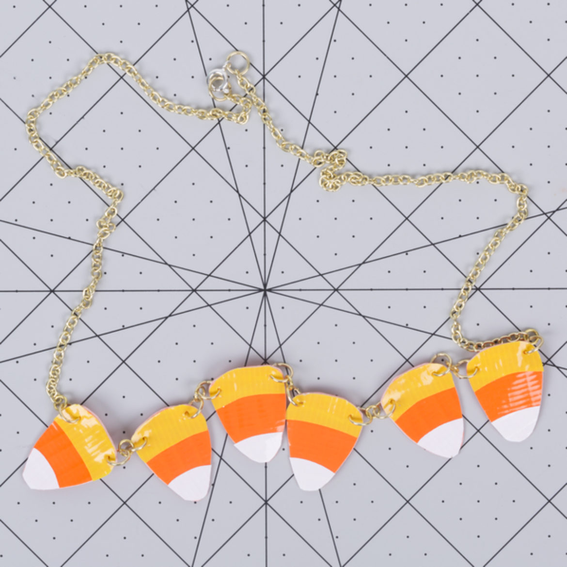 Candy Corn Necklace Step 8