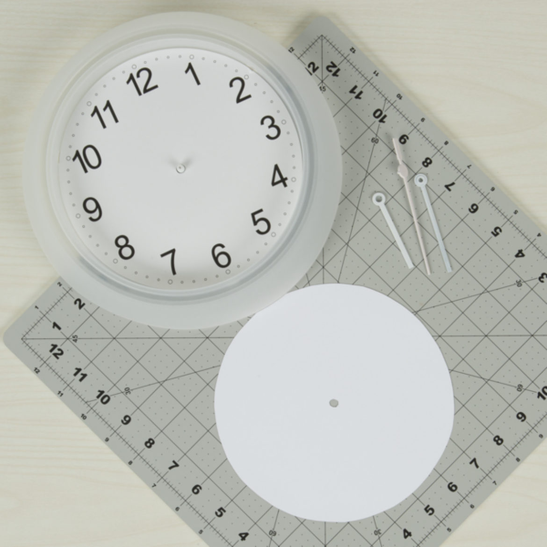 Diy Clock Step 1