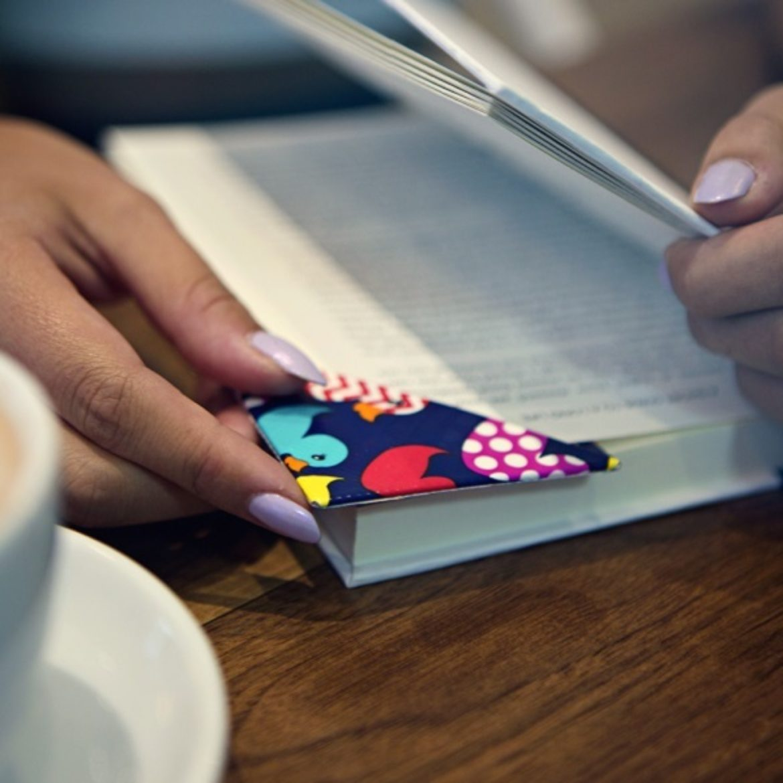 Completed Duck Tape® Corner Bookmark