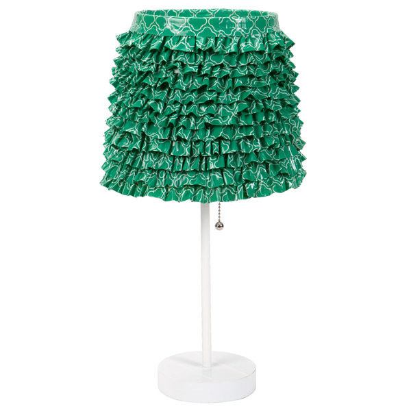 Completed Duck Tape® Decorative Lamp Shade