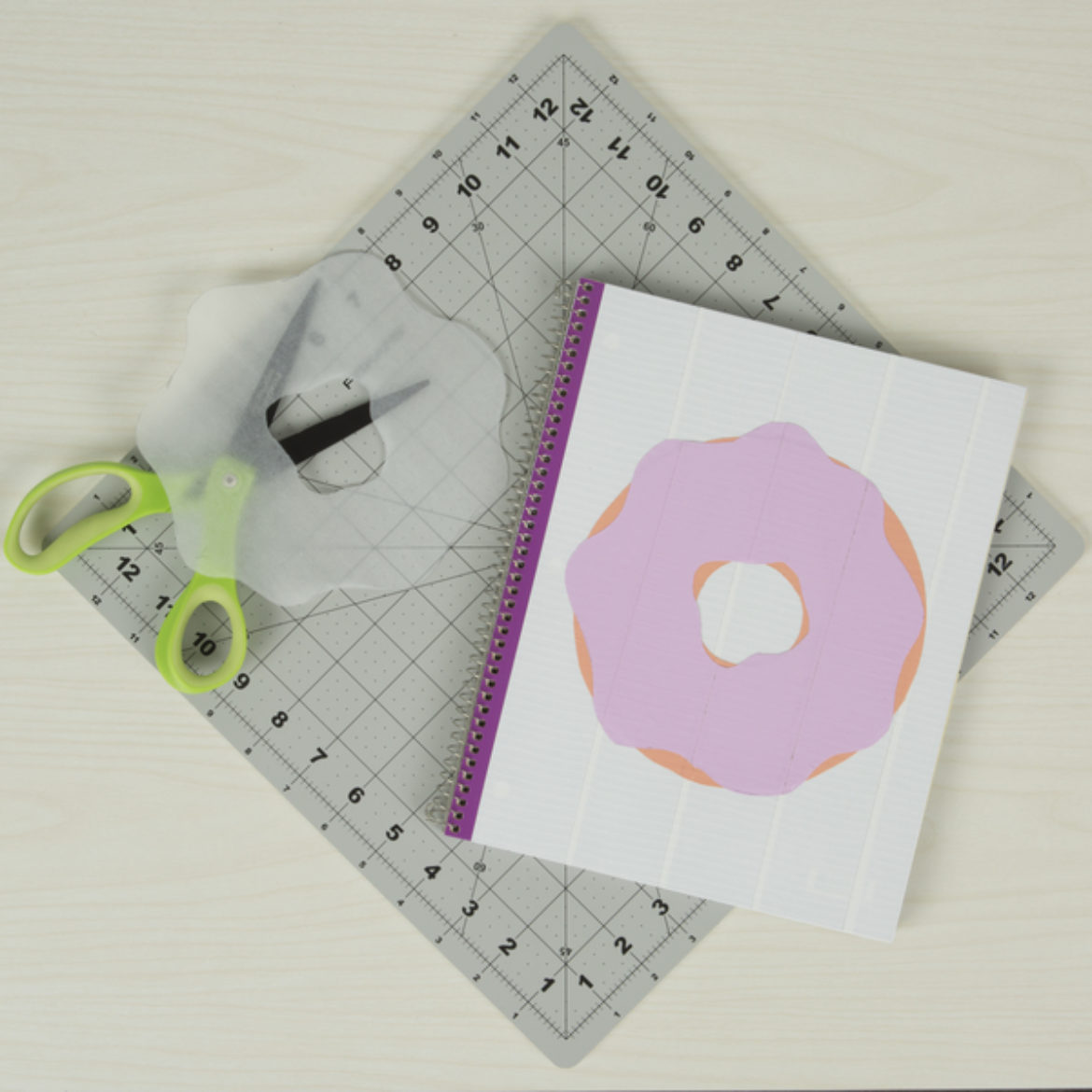Donut Notebook Step 3
