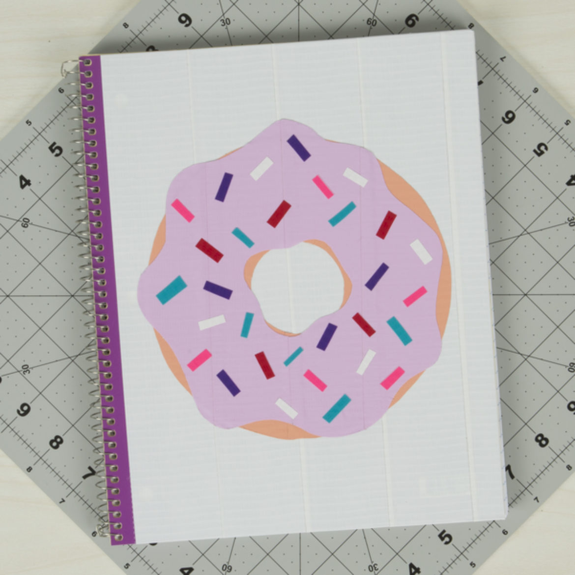 Donut Notebook Step 4