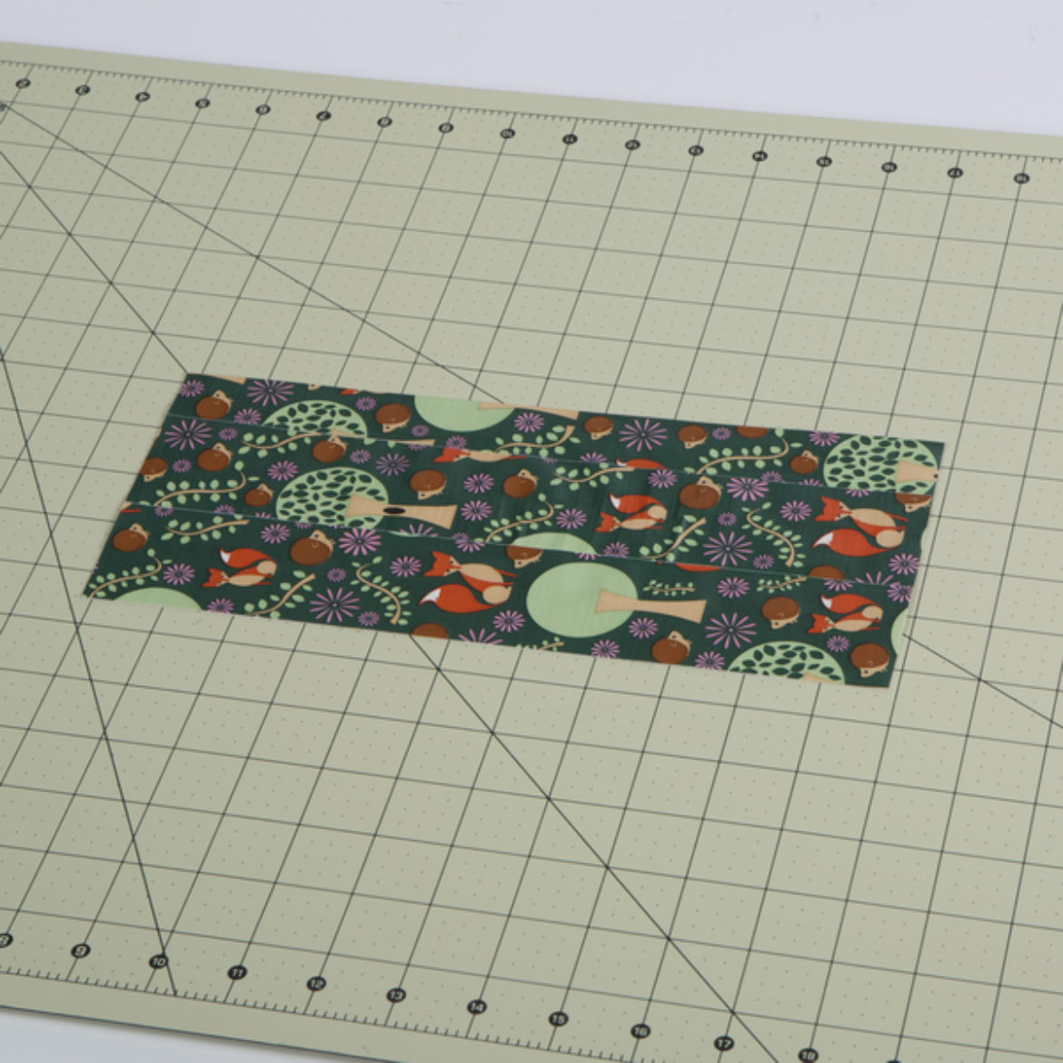 Duck Tape fabric piece to serve as a pocket