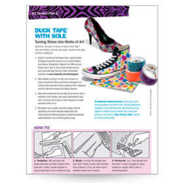 Duck Tape With Sole Lesson Plan