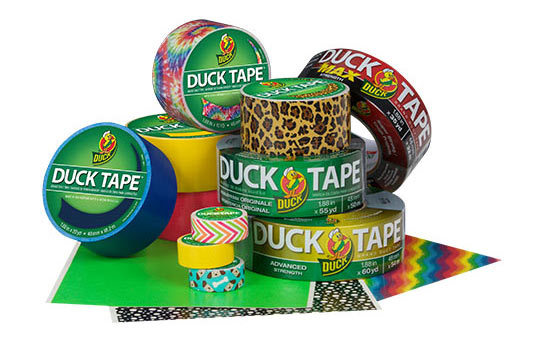 <p>Repair, craft, label and decorate with Duck Tape® Brand Duct Tape. Choose from traditional silver to wide range of colors, prints, strengths and technologies like sheets, mini-rolls, max strength and even glow-in-the-dark. Whether your next project is a simple kids craft or emergency home repair, there's a Duck Tape® product for you.</p>