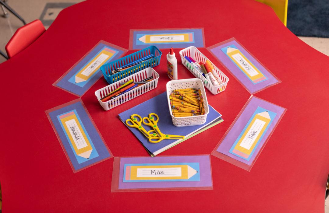 5 EasyLiner® Shelf Liner Hacks for the Classroom
