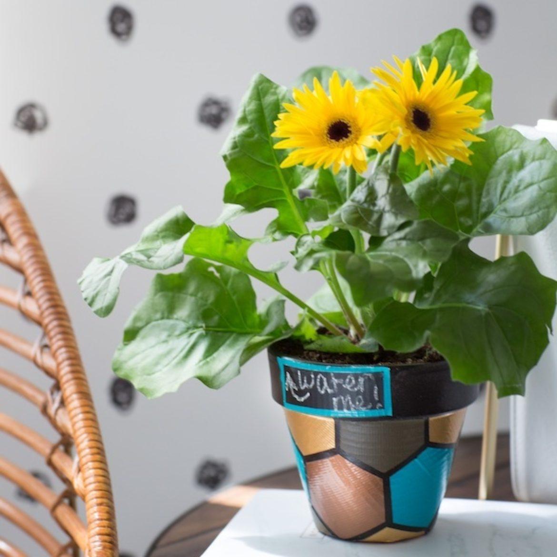 How To Duck Tape Flowerpots Duck Brand