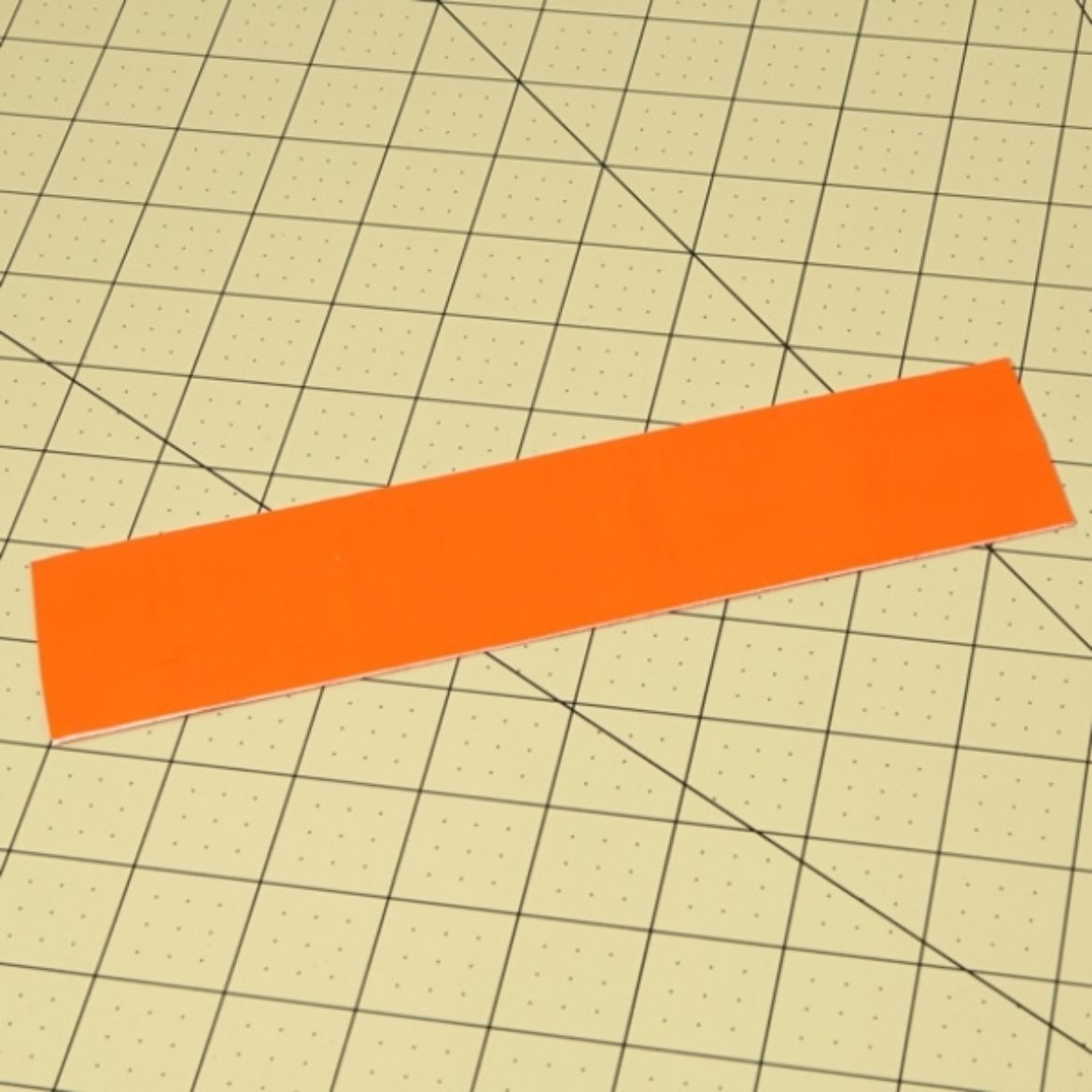 double sided Duck Tape strip