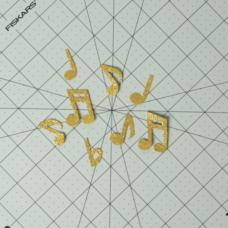 Musical Grad Cap Step 4