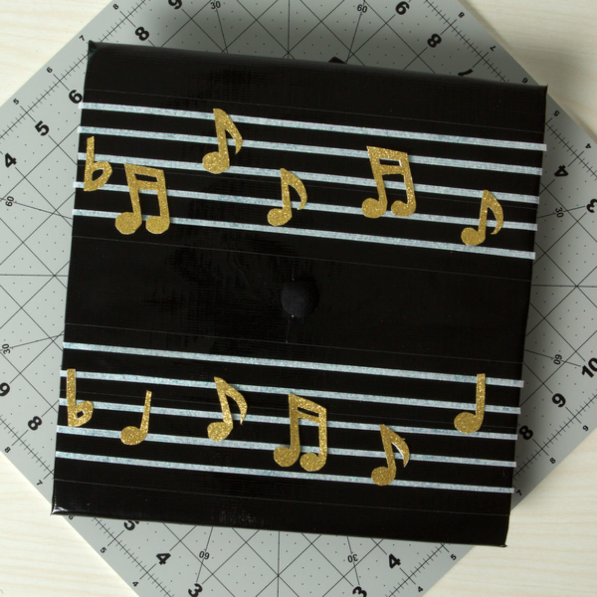 Musical Grad Cap Step 5