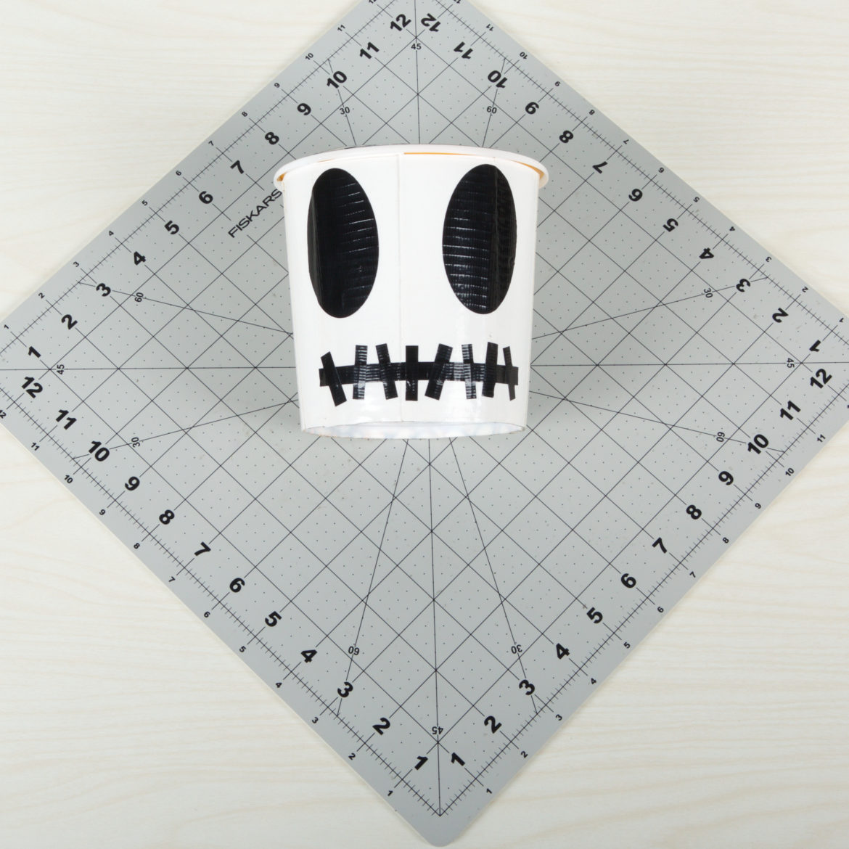 Skull Halloween Bucket Step 5