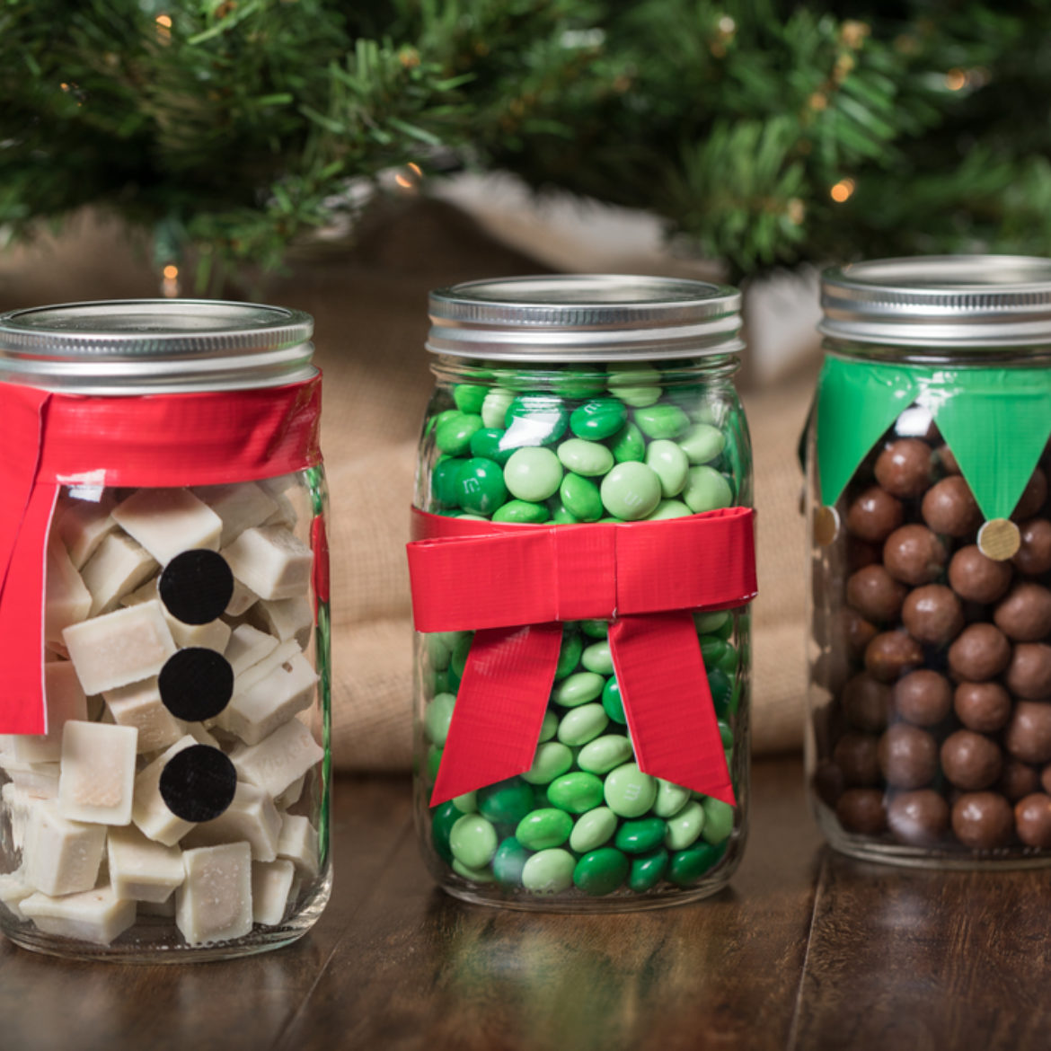 Holiday Gifts with Mason Jars | Duck Brand