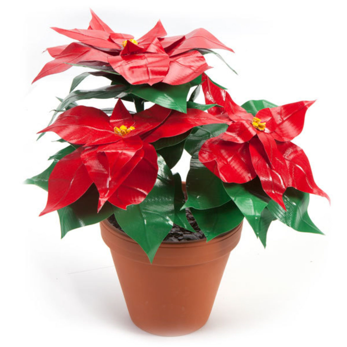 How-To: Duck Tape® Holiday Poinsettia
