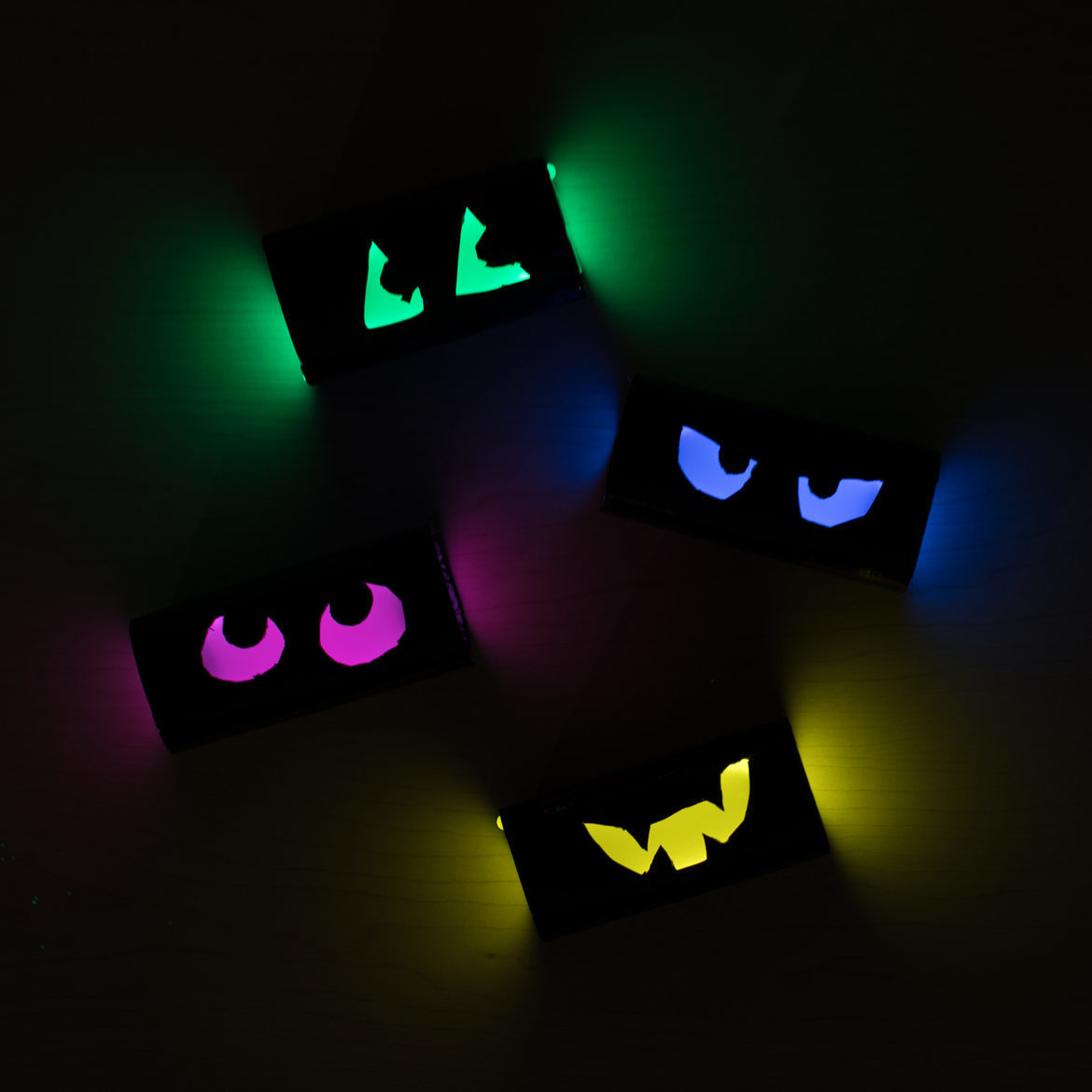 Halloween Glow Stick Eyes 2017 10 1