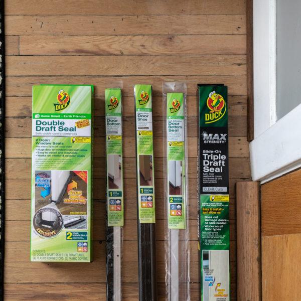 Weatherize Doors - Duck Brand Door Seals