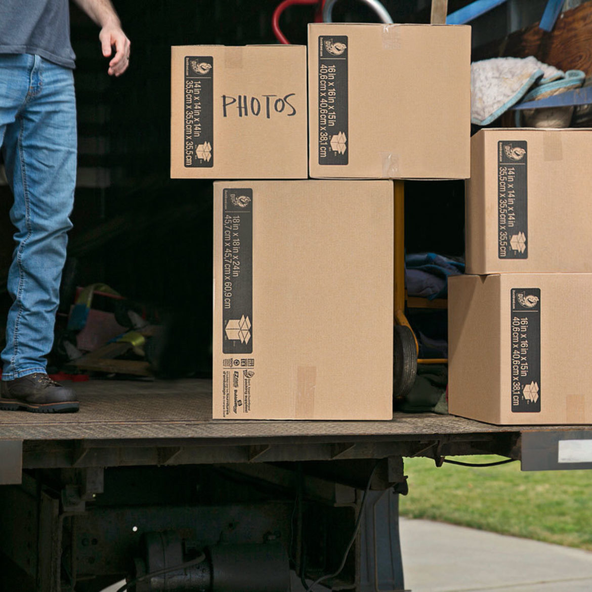 How to Choose the Right Moving Boxes