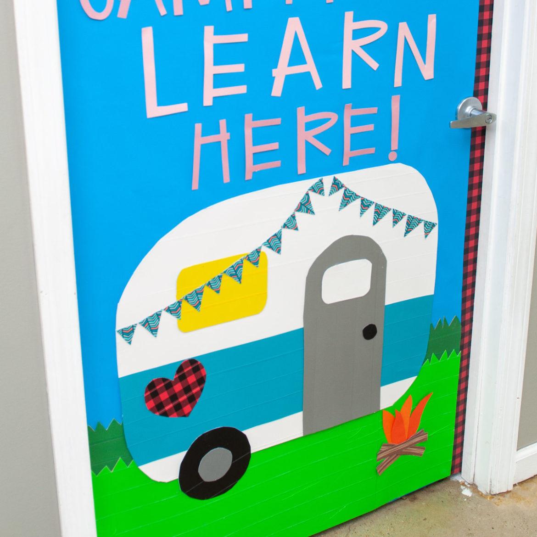How-To: DIY Classroom Door with Duck Tape®