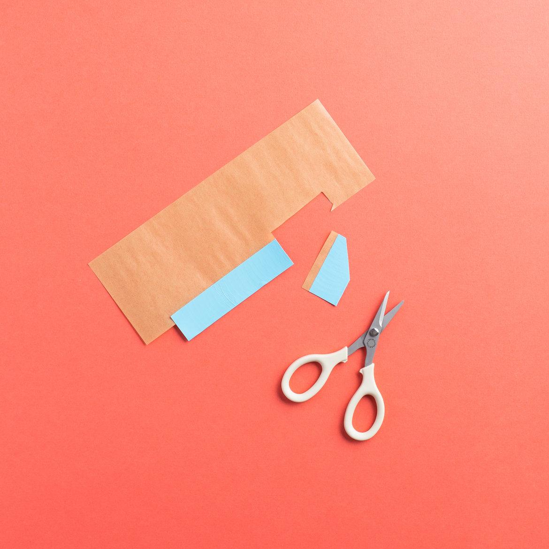 DIY Duck Tape Confetti Rockets - Step 9