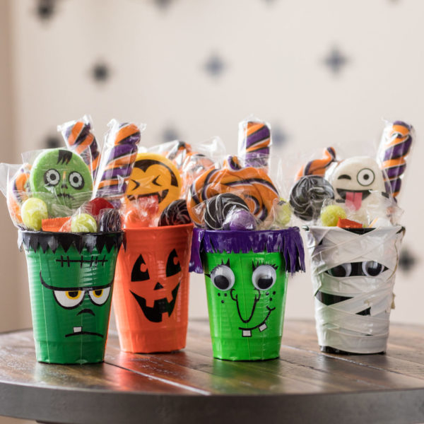 Halloween Cup Craft