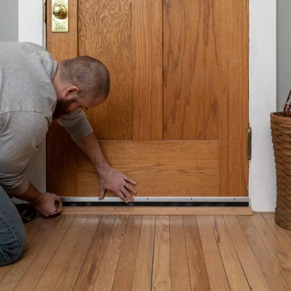 How to install Aluminum Door Sweep
