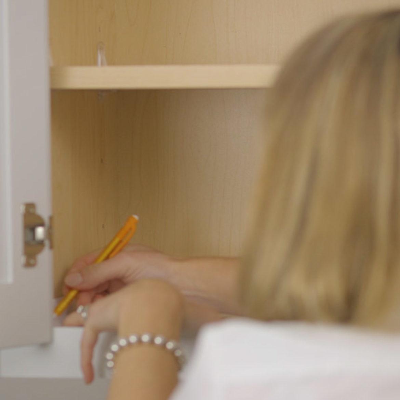 How To Install Shelf Liner Step 8