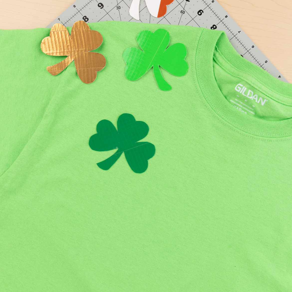 St. Patrick's Day Shirt Step 3