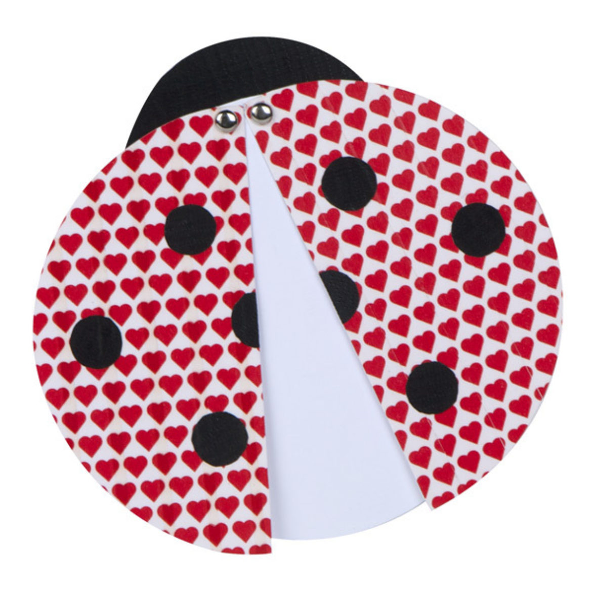 Completed Duck Tape® Ladybug Card