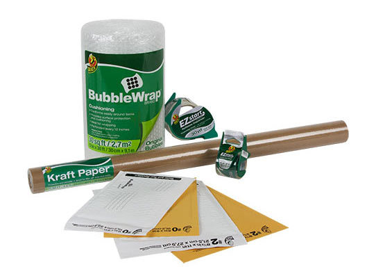 <p>Duck®brand helps make the packing easier with products like Bubble Wrap®Cushioning, packaging tapes, mailing envelopes, boxes, labels and more. From crystal clear tapes to heavy-duty boxes, we'll help you ship it right the first time.</p>
