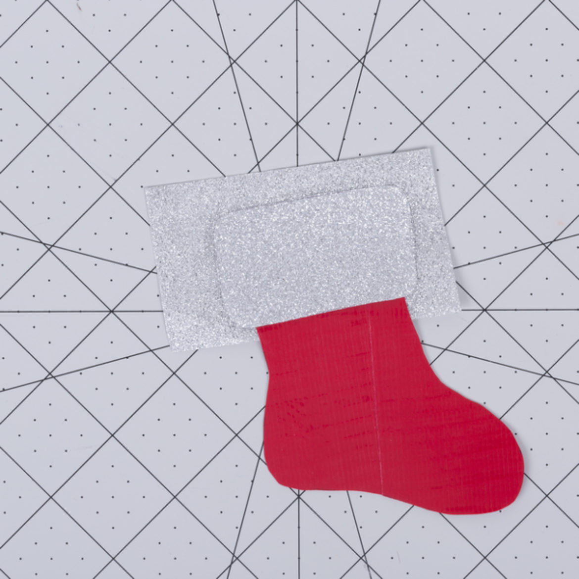 Mini Stocking Ornament Step 5 Copy
