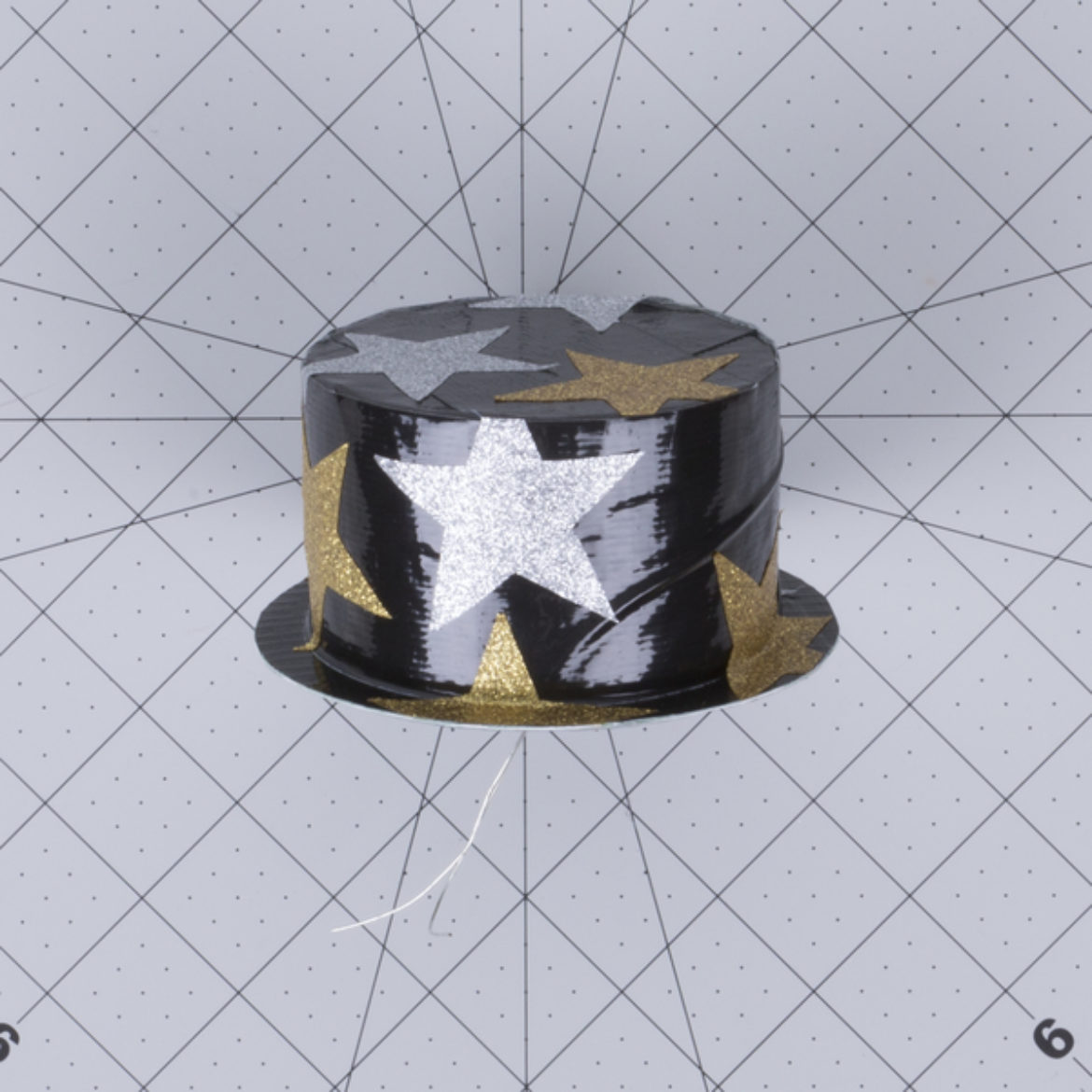 New Years Top Hat Step 8