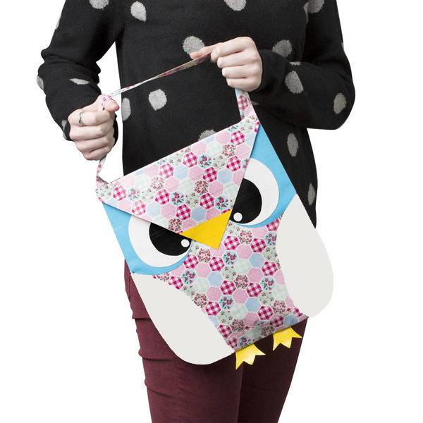 Completed Duck Tape® Owl Tote