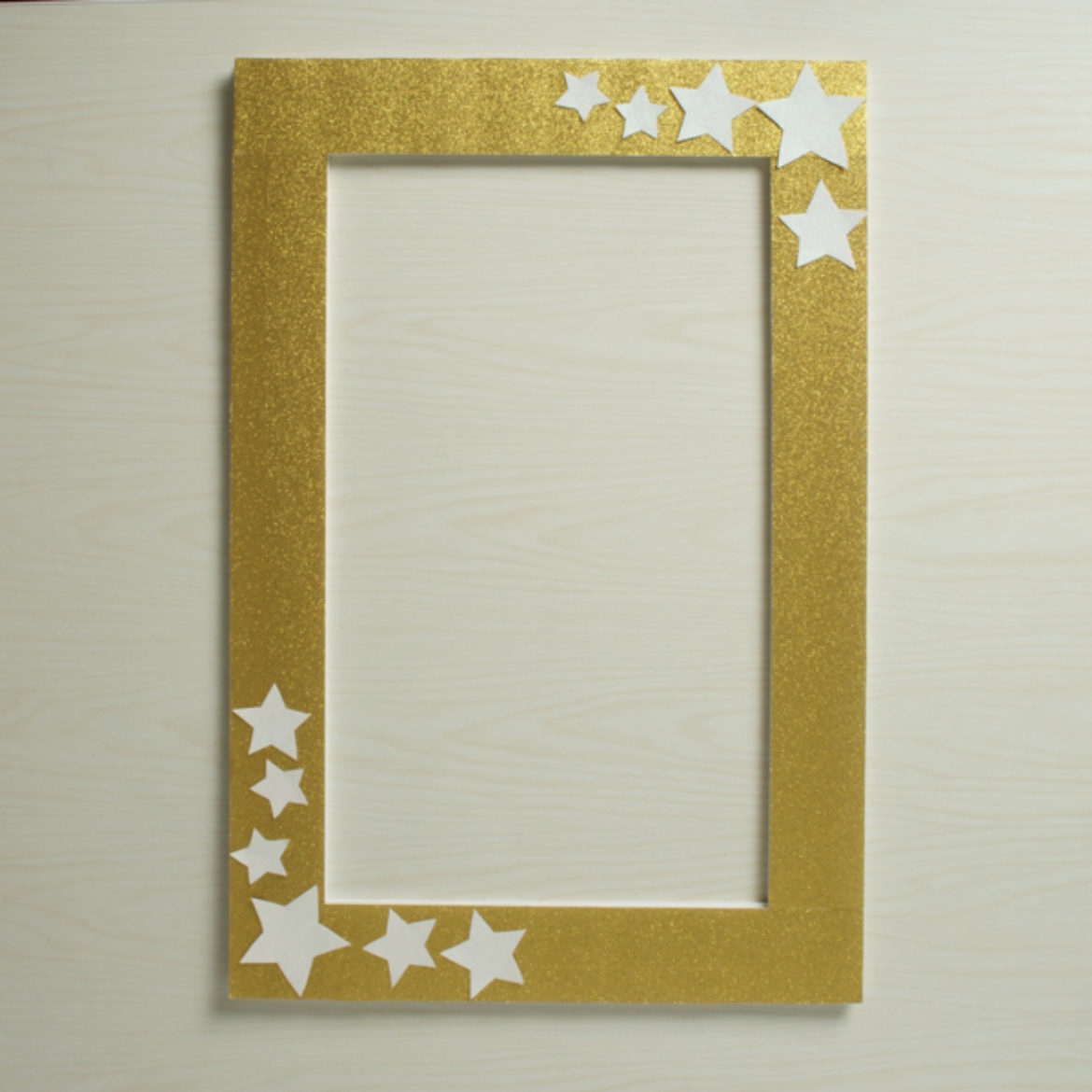 Glitter Photo Booth Frame Step 4