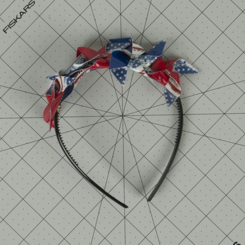 Pinwheel Headband Step 6
