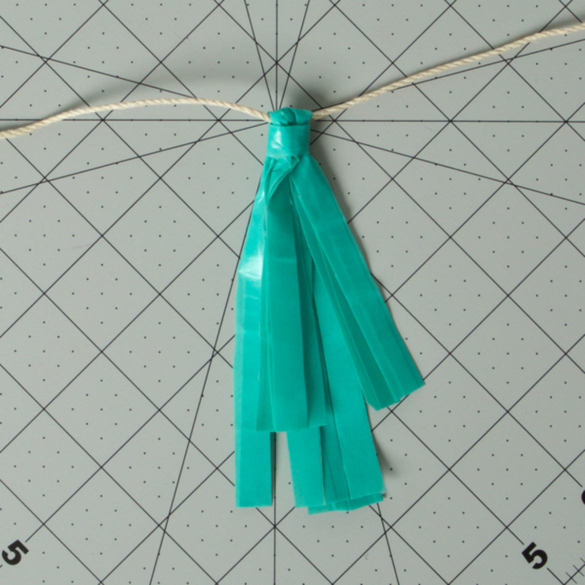Small Tassle Garland Step 3